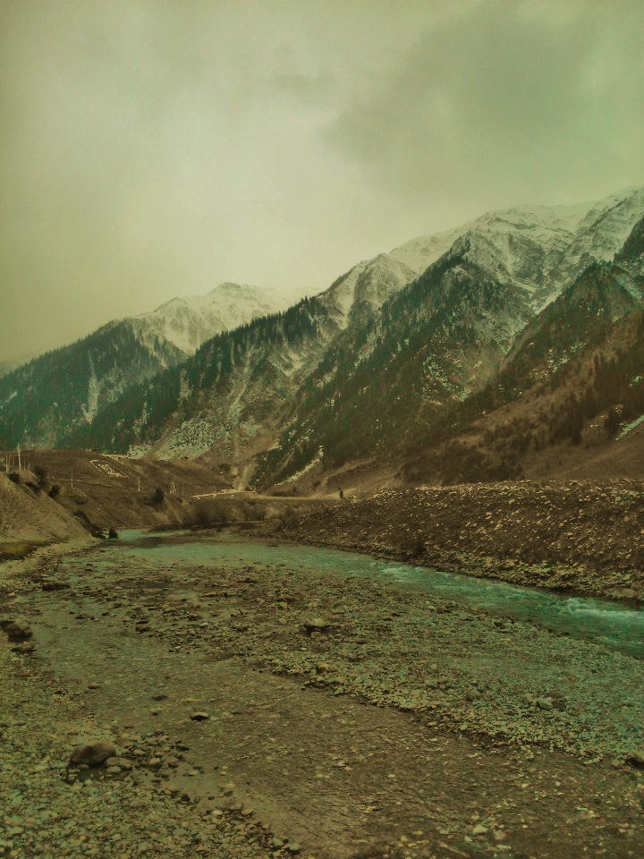 Natural symmetry at Sonamarg