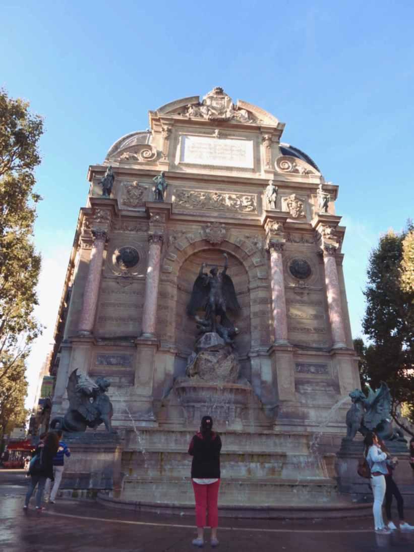 Fountain St. Michel